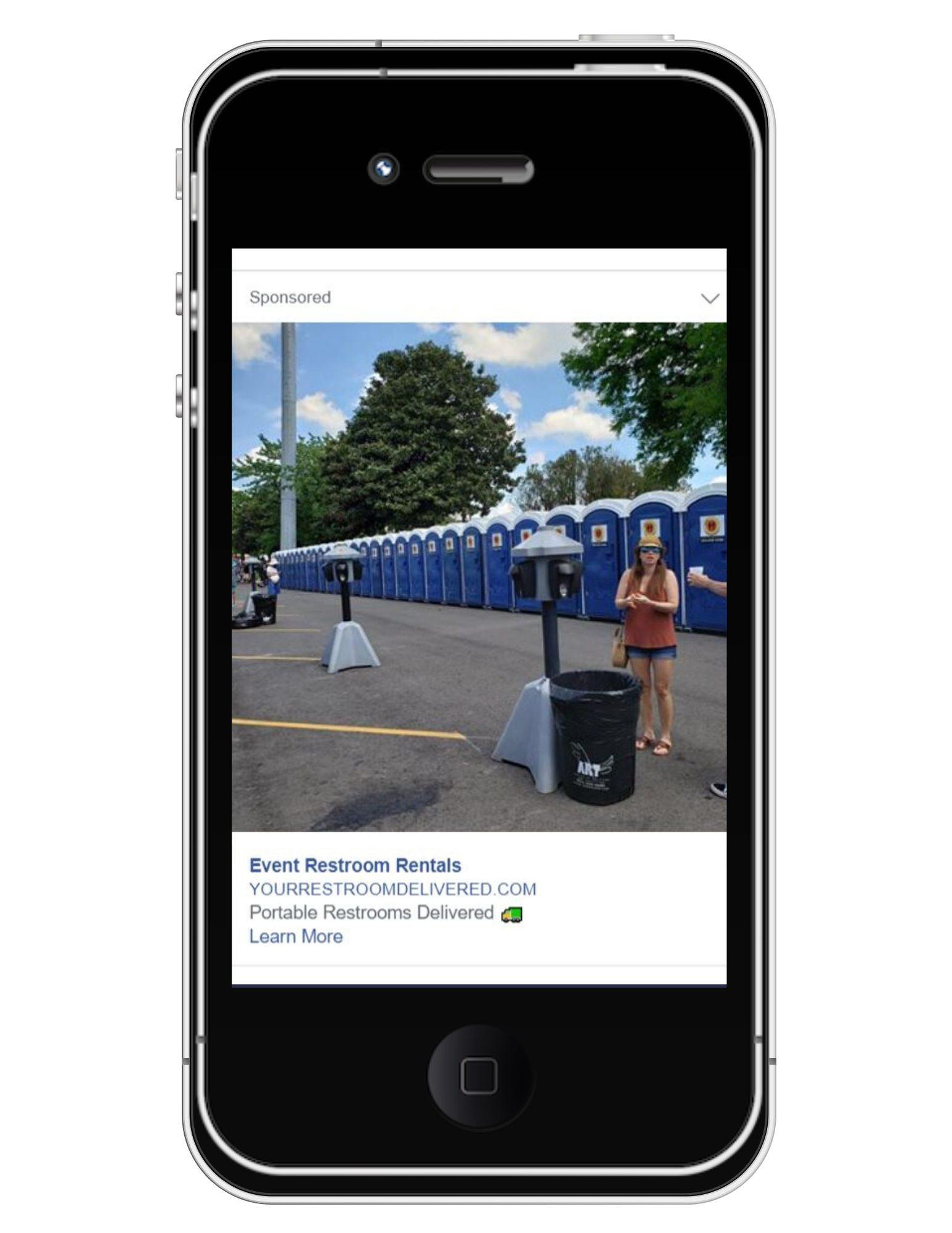 event restroom social media