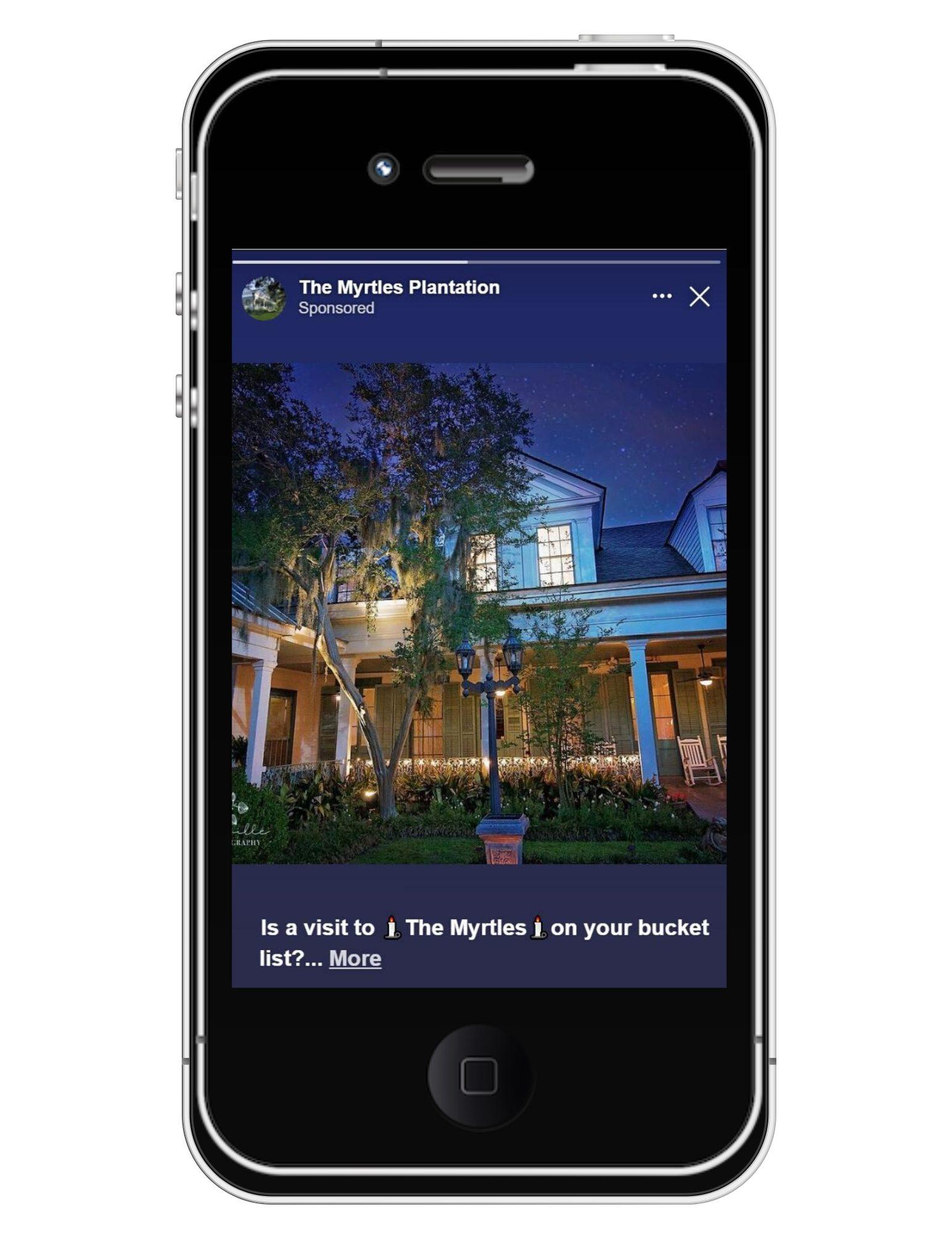 myrtles plantation social media