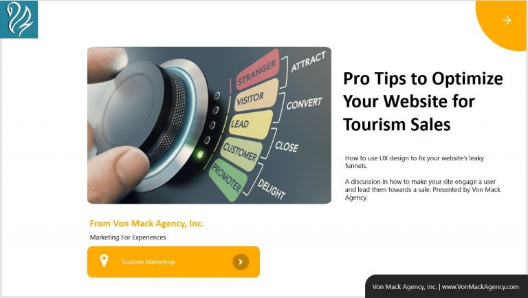 pro tips for tourism marketing